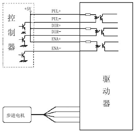 单片机驱动三相步进电机驱动电路图(含部分源程序)