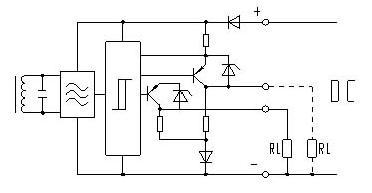 线直流光电开关传感器原理图及接线图图片