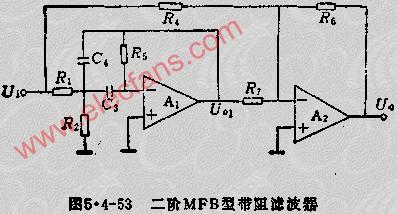 MFB带阻滤波器电路设计步骤