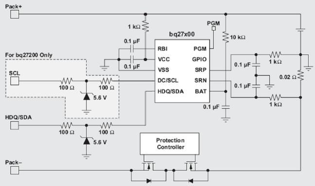 电池电量检测原理及电路图