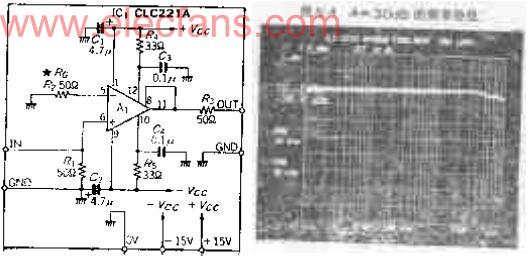 00MHZ宽带直流放大器电路图图片