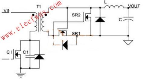 同步整流DC-DC模块电源电路实例分析