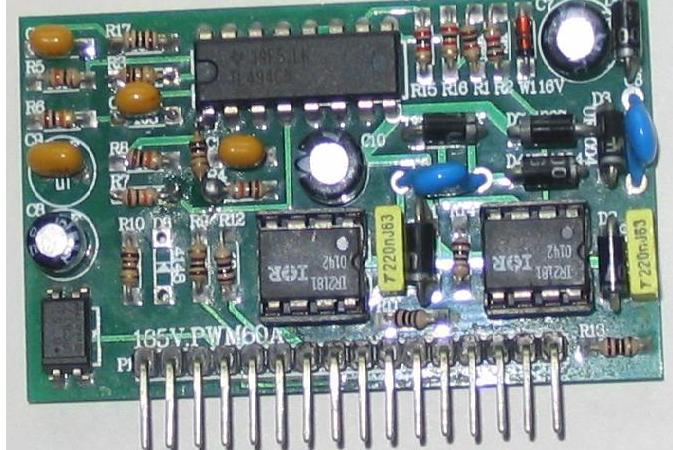 IR2101和TL494设计的全桥开关电源驱动电路图片