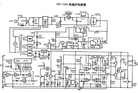 美的电磁炉电路图chv-cmi48616