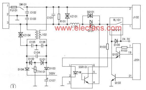 惠普HP1010型激光打印机电源电路分析