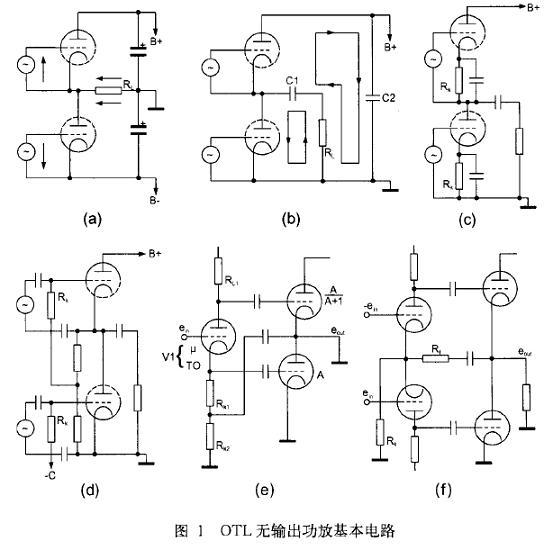 电子管功放电路图图片