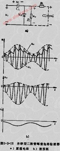 并联型二极管包络检波器电路及原理
