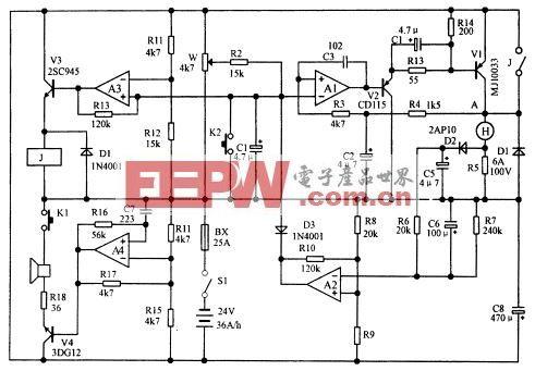简易电动自行车调速控制电路