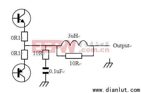 专业级音讯放大器的输出匹配电路