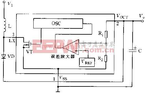 RH5RC内部结构电路图