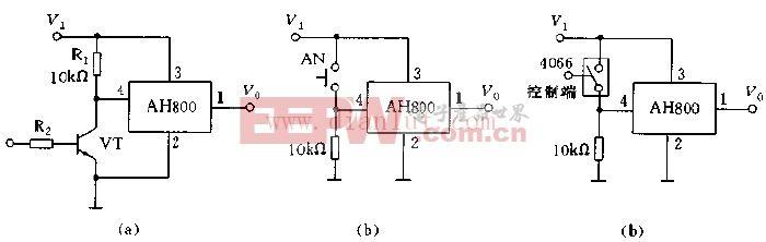 AH800的控制应用电路