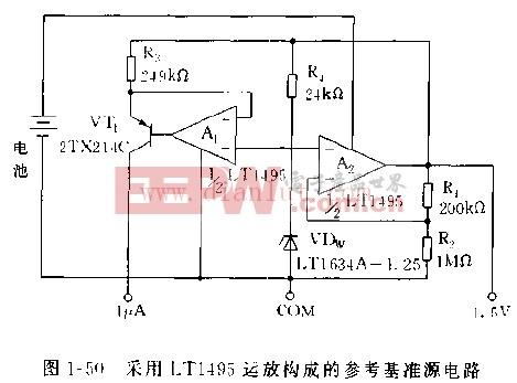 运放构成的微小直流电压放大器电路 -运放图片