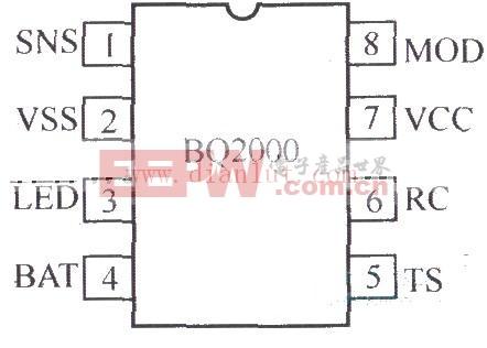 BQ2000充电控制器电路图