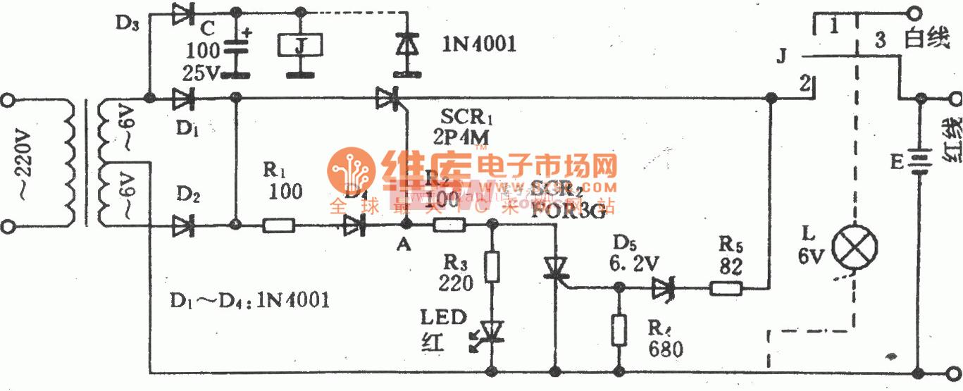 台湾千里眼充电器电路图