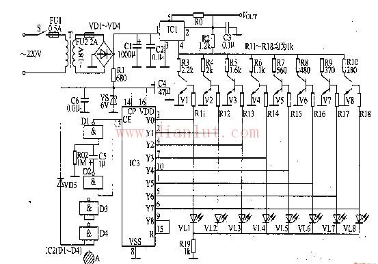数控直流稳压电源电路 十一图片