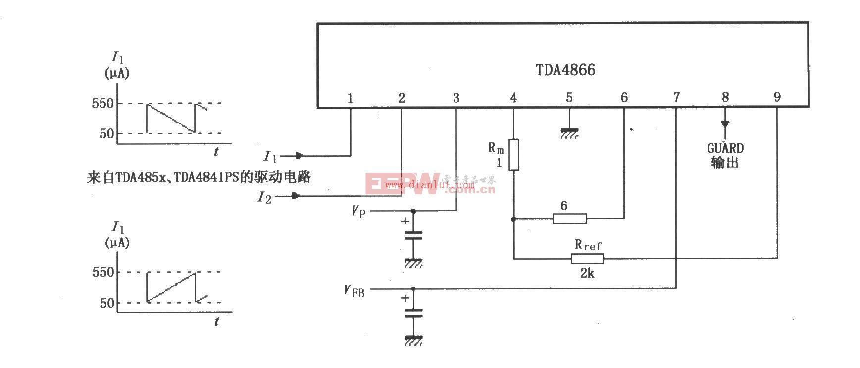 TDA4866测试电路