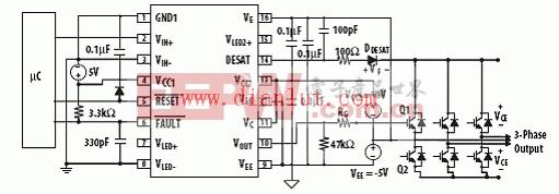 ACPL-38JT推荐的应用电路图