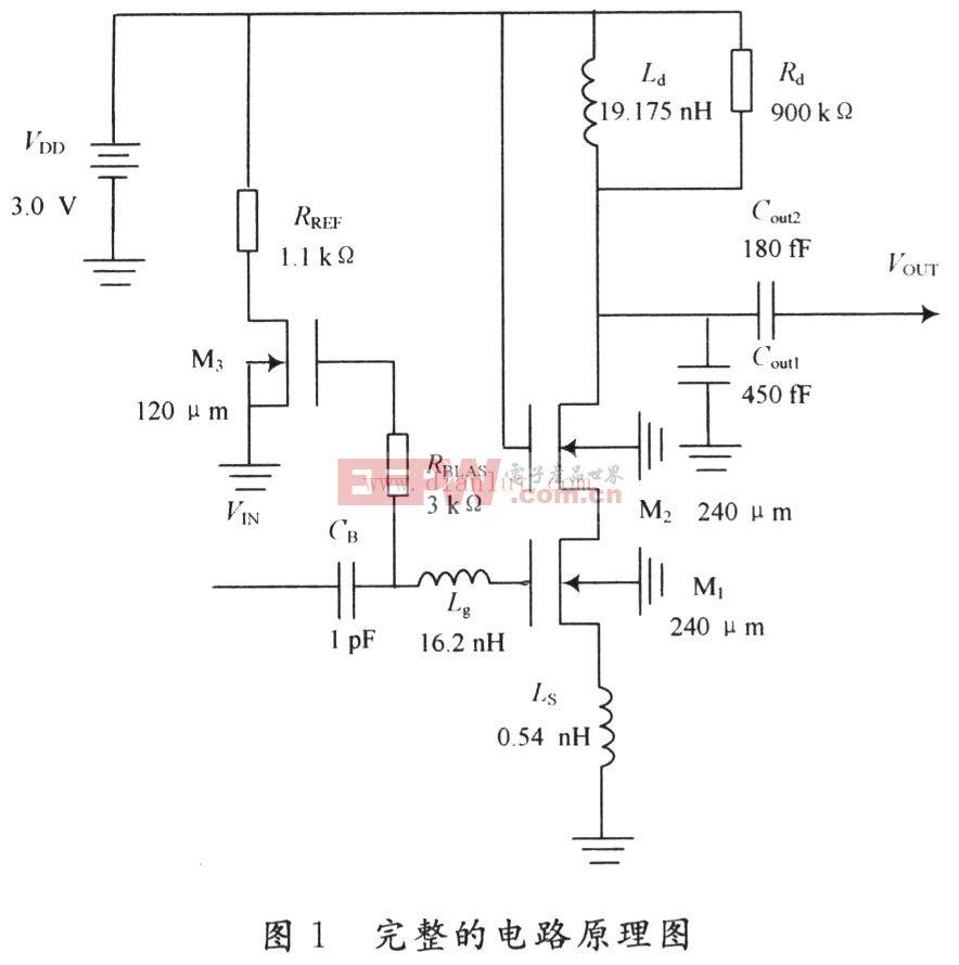 利用Cadence设计COMS低噪声放大器