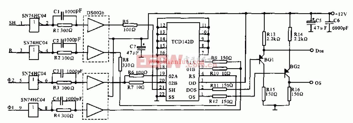 线阵CCD驱动电路