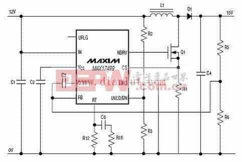 powermax1000的控制接线图