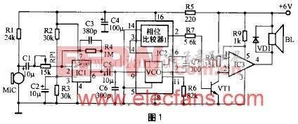 CA3160制作的D类功放电路 www.elecfans.com