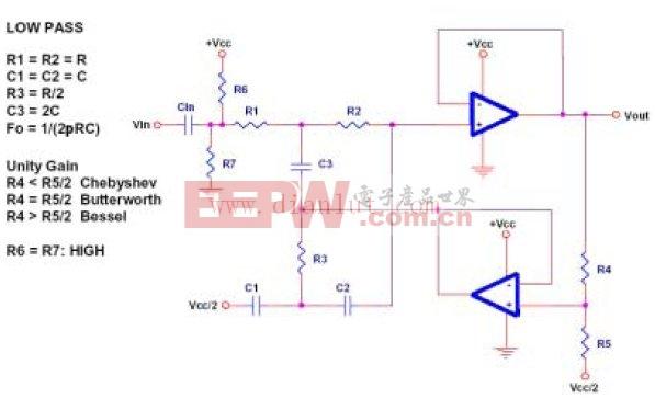 典型的双运算放大电路锦集图片