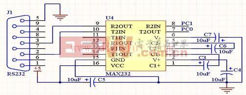 计价器串口电路