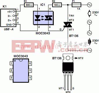 USB应用于家电电路