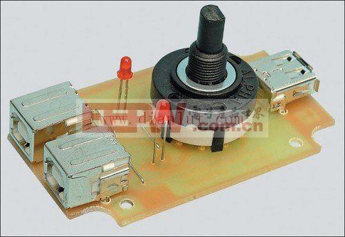 USB打印机共享的开关电路