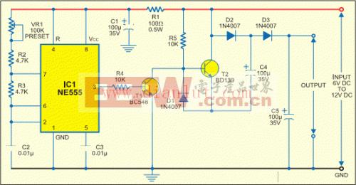 低功耗电压倍增(器)电路