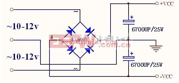 tda2030a设计的btl大功率功放电路