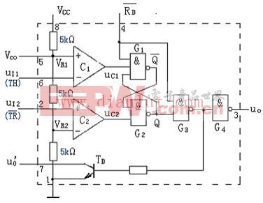 时基电路555电路结构图