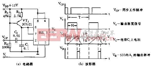 简易电压 脉宽转换器电路图-简易电压 脉宽转换器电路图片