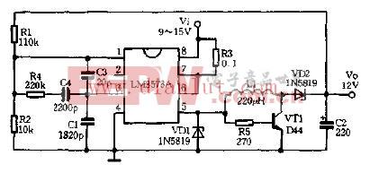 降压―升压稳压器电路图片