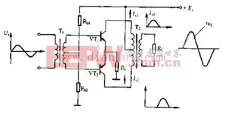 乙类功率放大器典型电路