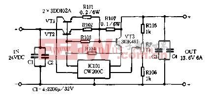 甚高频稳压电源电路图-甚高频稳压电源电路图片