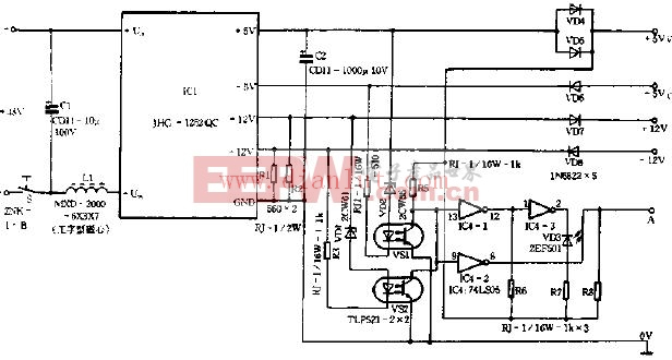 12V稳压电源电路图片