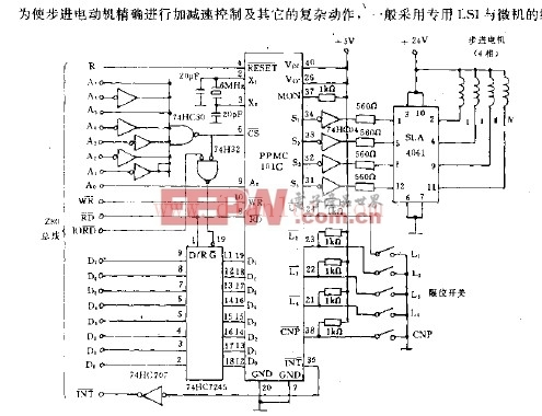 用EA802的电动机控制电路 -电动机图片