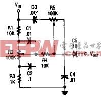 高低音组合控制电路