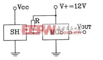 霍尔开与MOS电路连接输出接口电路