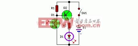 红外远程测试电路