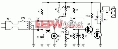 供暖系统温控器电路
