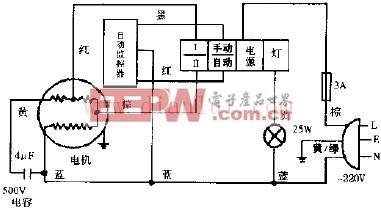 小天鹅cxw-230-99b单轮型抽油烟机电路-微波炉电路图