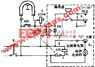 YZD-500型紫外线灯电路原理图