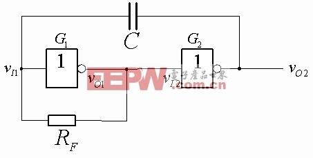 非对称式多谐振荡器电路
