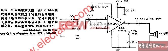 daka 电子设计 - 移动电子设计先锋         关键词:功率放大器&