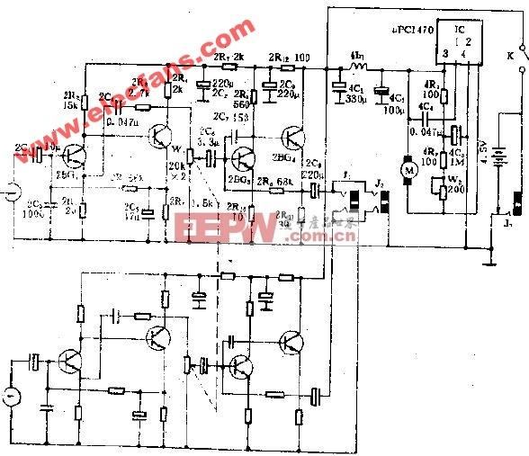 SL-860型袖珍立体声单放机电路图