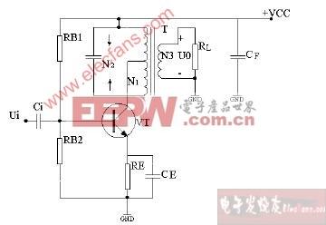 小信号调谐放大器电路图图片