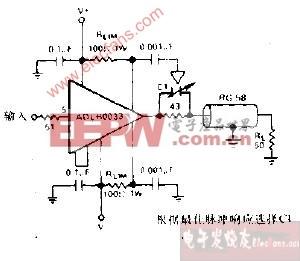 同轴电缆驱动器电路图
