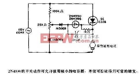 速度 电路图 电机 控制/电机速度控制电路图2